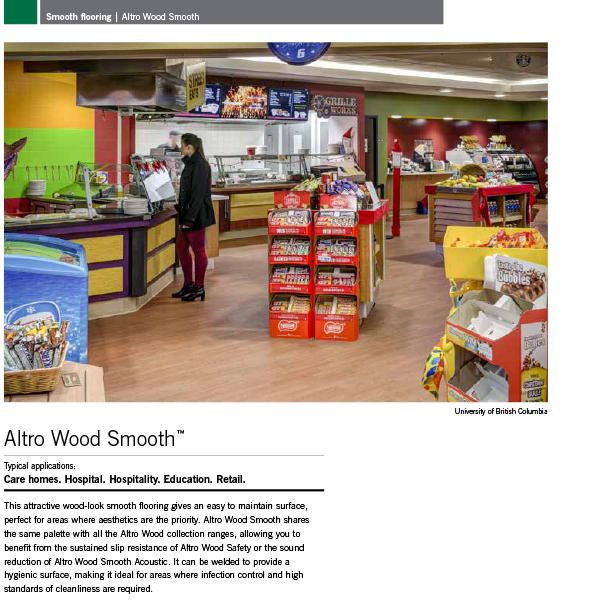 Altro Smooth Flooring Brochure