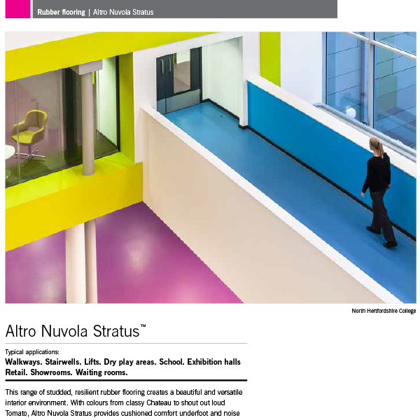 Altro Rubber Flooring Brochure